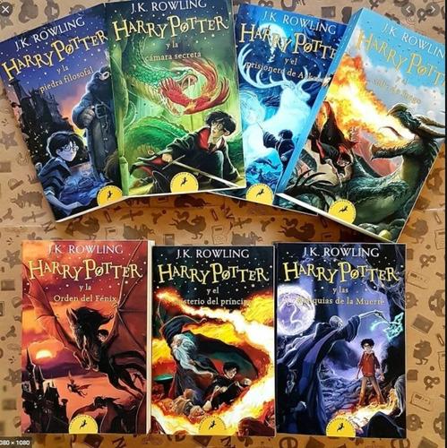 Libro Colección 7 Libros Harry Potter