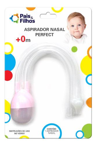 Aspirador Nasal Bebe Higiene Nariz Sugador Catarro E Meleca