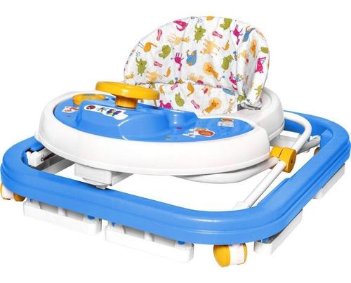 Andador Bebê Musical Disquinho Azul Menino