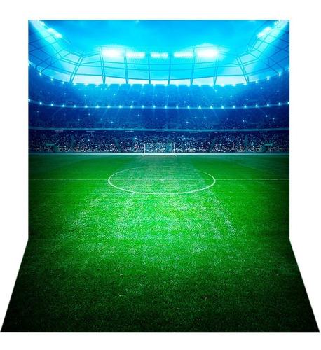 Fundo Fotográfico Tecido Newborn Futebol 1, 7x2, 6m Ffb 258
