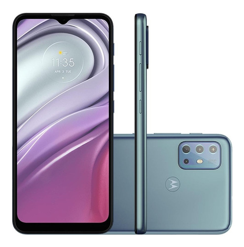 Smartphone Motorola G20 Dual 6.5 64gb 4gb Câm Quadrupla Azul