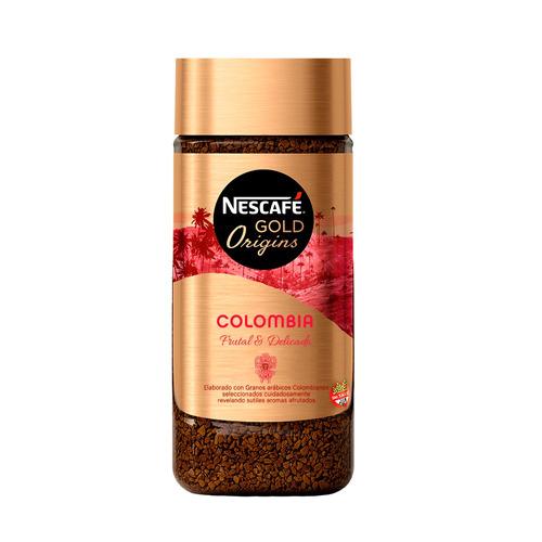 Café Instantáneo Colombia Nescafé Gold Origins Frasco 100g