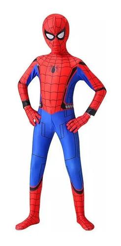 Cosplay Homem Aranha De Volta Ao Lar Infantil Spider