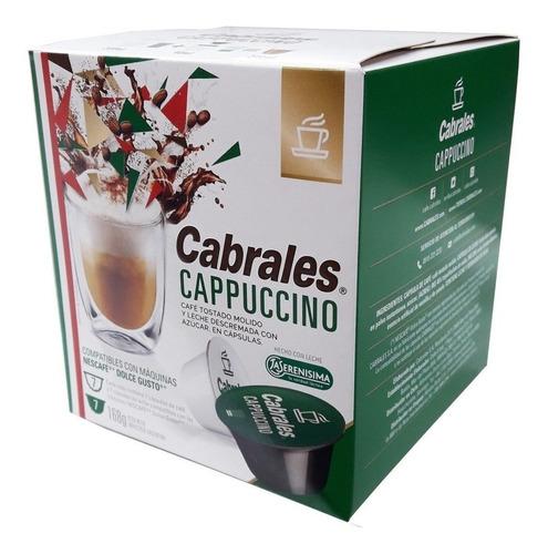 Cápsulas De Café Cappuccino Cabrales 14u