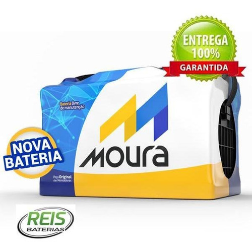 Bateria De Carro Moura 60ah Peugeot 206 / 207 M60gd Original