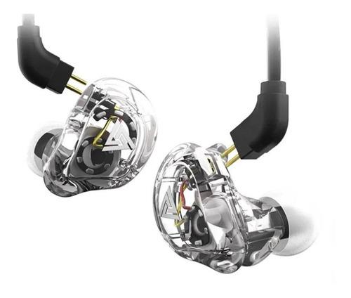 Audífonos In-ear Qkz Vk1 Transparent