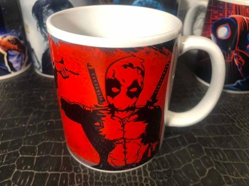 Taza De Deadpool Cerámica Marca Orca