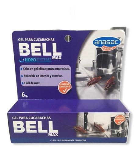 Bell Max Gel Para Cucarachas 6 Gr - Anasac