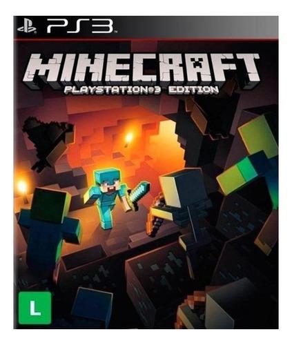 Minecraft  Standard Edition Sony Ps3 Digital