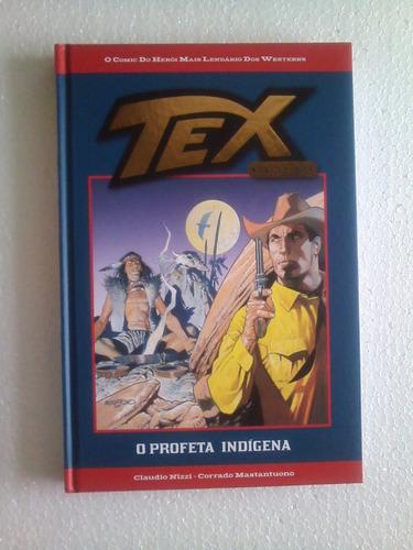 Tex Gold - O Profeta Indígena  Nº 01  Salvat