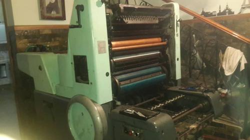 Maquina Litografica Medio Pliego Solna - 125