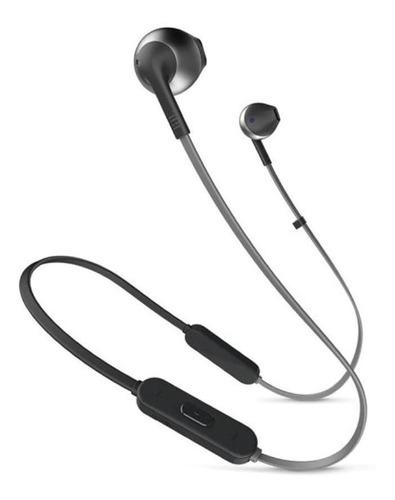 Audífonos In-ear Inalámbricos Jbl Tune T205bt Black