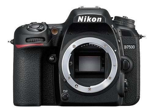 Nikon D7500 Dslr Cor Preto
