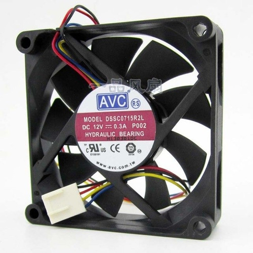 Fan Cooler Ventilador  4 Pines 12v 0.4 A