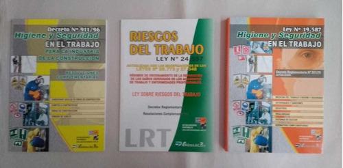 Pack Ley Higiene Seguridad + Decreto 911 + Riesgos Trabajo