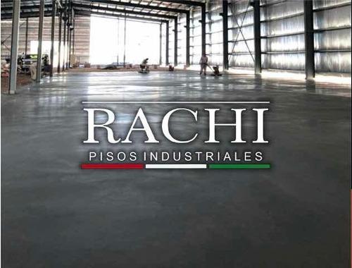 Piso De Hormigon Alisado Llaneado Industrial