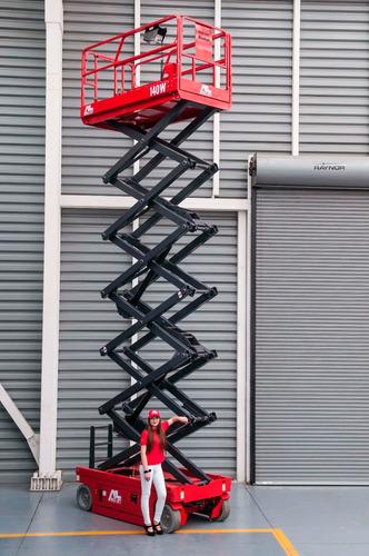 Plataforma Elevadora Tijera  Alo Lift14 Mts Alt. De Trabajo