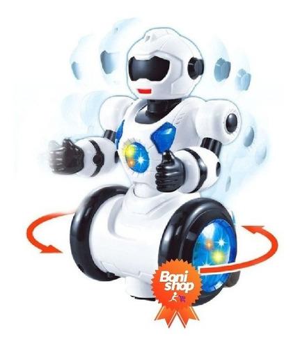 Robo Dançarino Infantil Max Dance Brinquedo Com Luz Som