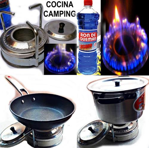 Cocina Portatil Economica De 1 Hornilla Casa Playa Camping