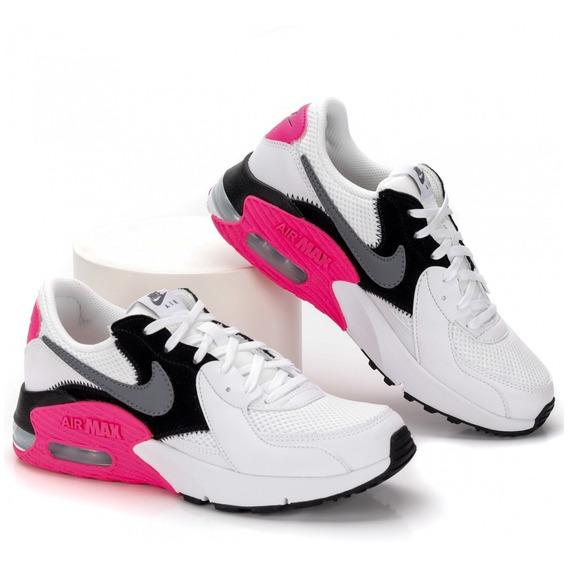 Zapatillas Nike Modelo Running Damas Air Max Excee - (100)