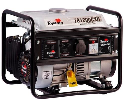 Gerador De Energia À Gasolina 1,0 Kva Tg1200cxh Toyama