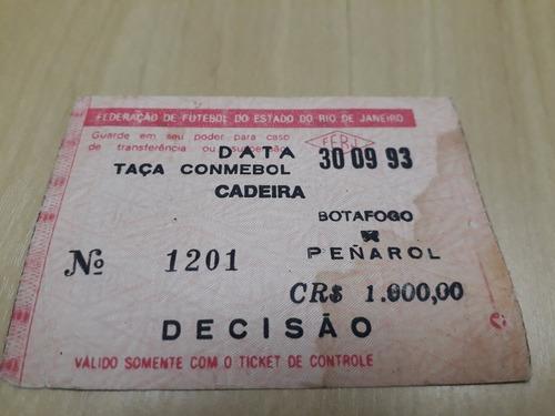Ingresso Botafogo Campeao Final Da Taça Conmebol