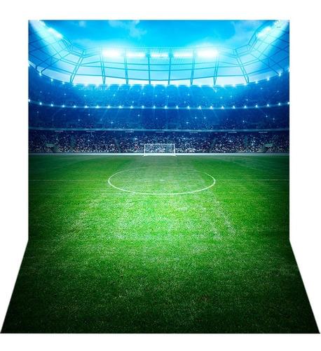 Fundo Fotográfico Tecido Newborn Futebol 1, 5x2, 2m Ffb 258