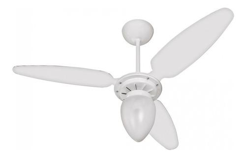 Ventilador De Teto Ventisol Wind Branco Com 3 Pás De Plástico, 96cm De Diâmetro 220v
