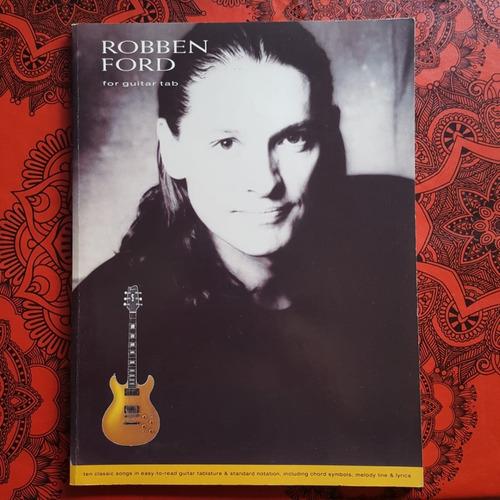 Libro De Partituras-robben Ford-for Guitar Tab-impecable