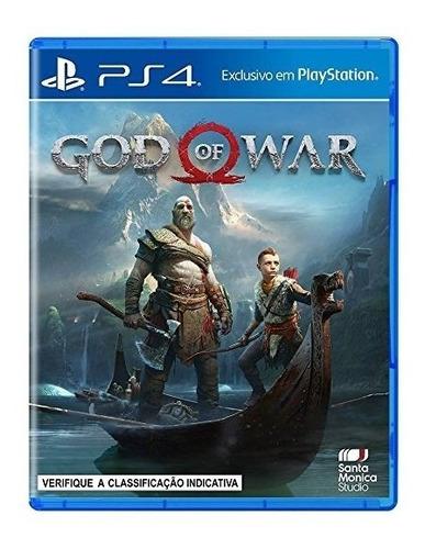 God Of War Ps4 Novo Lacrado Frete Grátis