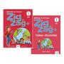 Livros Zigzag 1 Livre Eleve E Cahier A1.1 Cle Com Dvd
