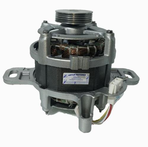 Motor P/ Lavadora Electrolux Lte12 -220v (polia Estriada)