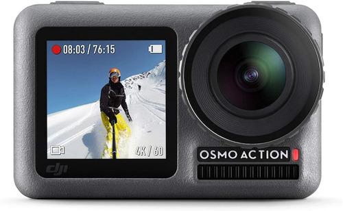 Câmera Dji Osmo Action 4k Estabilização Prova Dágua Com Nota
