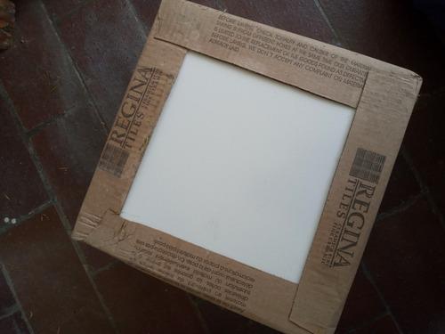 Ceramica Blanca 30x30, Regina, 2 Cajas