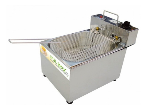 Fritadeira Industrial Elétrica Ital Inox Feoi 5 Inox 220v