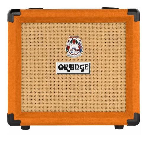 Amplificador Orange Crush 12 Transistor Para Guitarra De 12w Color Naranja