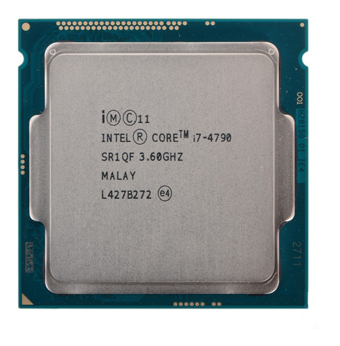 Processador Gamer Intel Core I7-4790 Cm8064601560113 De 4 Núcleos E 3.6ghz De Frequência Com Gráfica Integrada