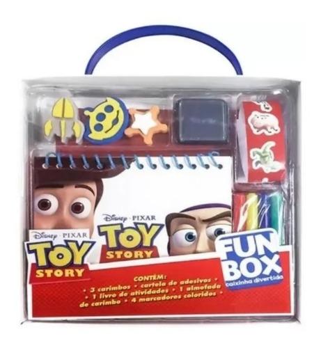 Livro Disney Fun Box Didatico Atividade Infantil
