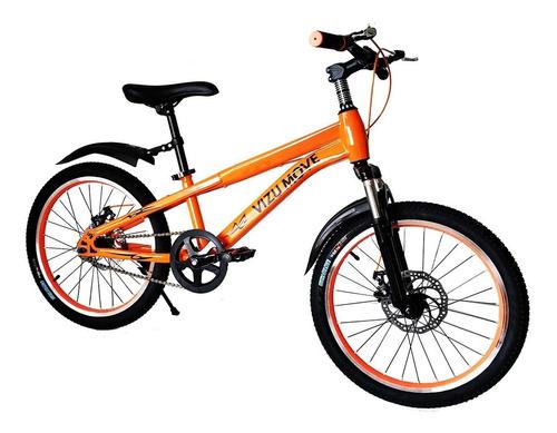 Bicicleta Aro 20 Vizu Move Freio A Disco Suspensão *avaria