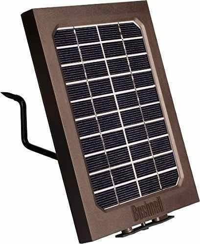 Bushnell Painel Solar Camera Trilha Trophy Cam Hd Wireless