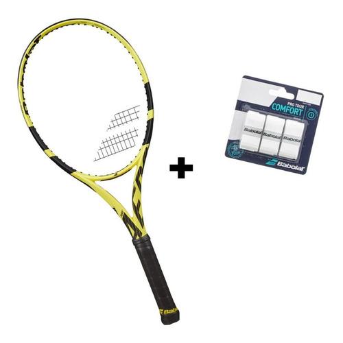 Raquete De Tenis Pure Aero Babolat 2019 Encordoada L3 2019