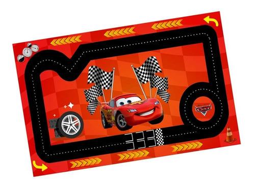 Pista Tapete Autodromo Para Carrinhos 60x100m Mcqueen