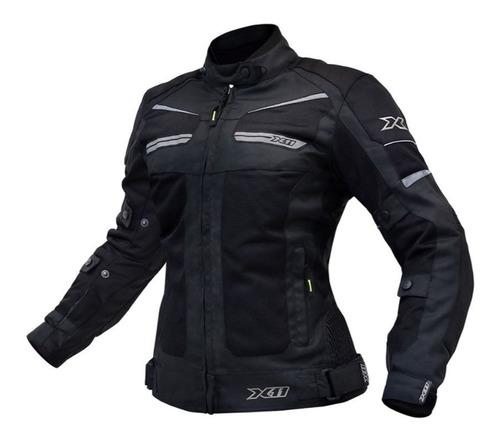 Jaqueta Feminina Moto X11 Breeze Ventilada Com Proteção