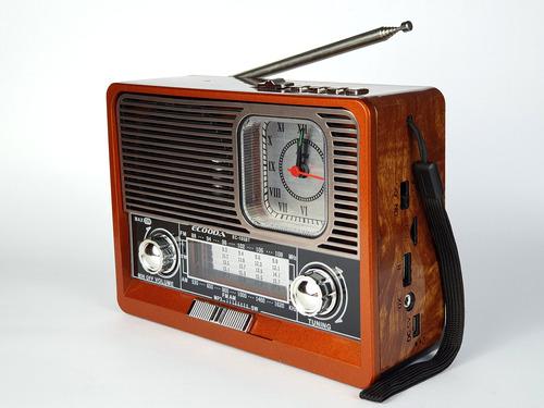Radio Retro Antigo Vintage Am Fm Bluetooth Qualidade Barato