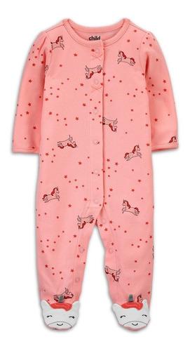 Macacão Pijama Child Of Mine By Carter's Pé Antiderrapante