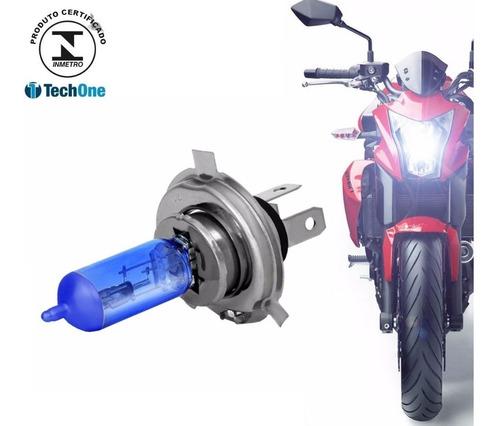 Lampada Super Branca Moto H4 8500k Tipo Xenon 12v 35w