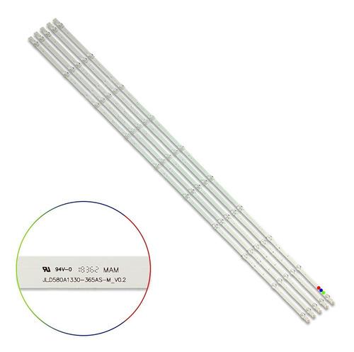 Kit Leds Hisense 58r6000fm / 58h6500e (5t)- Aluminio, Nuevo