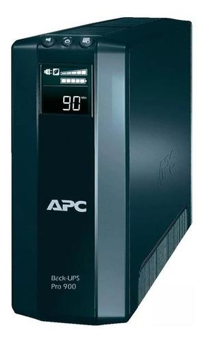 Apc Back-ups Br900g-ar 900va Entrada Y Salida De 230v Negro