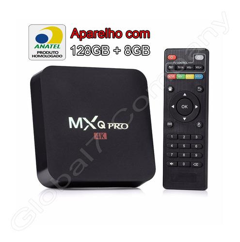 Tv Box Conversor Smart Uhd 4k 128/8gb Ram + Envio Expresso!