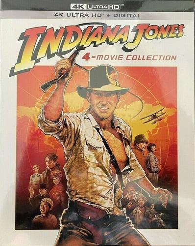 Blu-ray 4k Ultra Hd Indiana Jones 4 Movie Lacrado